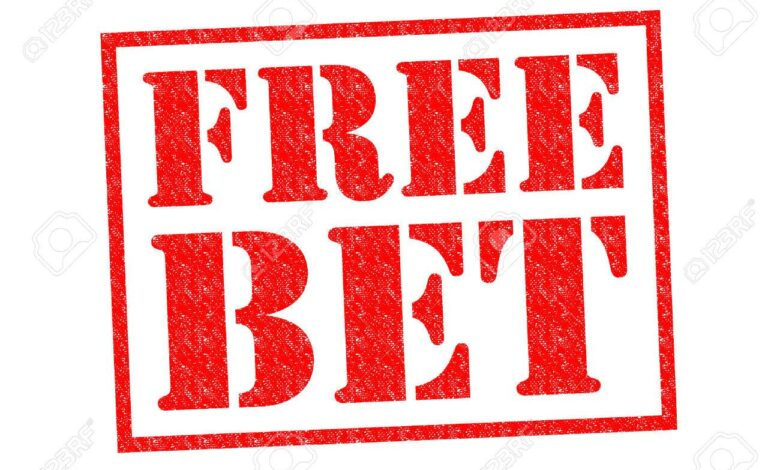 32450316 free bet red rubber stamp over a white background 1 1